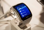 Samsung Launches Curved Gear S Smartwatch