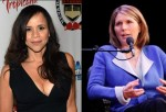 Rosie Perez (Left) & Nicolle Wallace (Right)