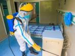 Ebola Preventing Exercise Held in Fosham