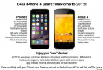 iPhone 6 (2014) vs. Nexus 4 (2012)