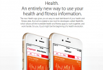 Apple's Health App in iOS 8