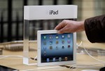 The New iPad Is Launched At The Apple Store In Covent Garden