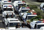 MOTORCADE FOR SLAIN TIJUANA POLICE CHIEF