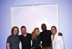 Katie Goodwin (C) and actors (L-R) Elden Henson, Wes Chatham, Natalie Dormer, Mahershala Ali, and Evan Ross