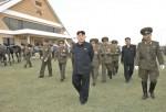 North Korean leader Kim Jong-un visits the Mirim Riding Club
