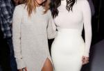 Karrueche Tran & Kim Kardashian