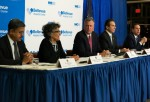 President of NYC Health and Hospitals Corporation Dr. Ram Raju, NYC Health Commissioner Dr. Mary Travis Bassett, Mayor Bill DeBlasio of New York City, Governor Andrew Cuomo of New York and Acting Commissioner of the Department of Health Dr. Howard Zucker