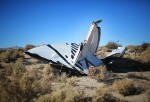 Virgin Galactic SpaceShipTwo Crashes During Test Flight In