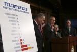 Sen. Harry Reid, Change to Filibuster Rules