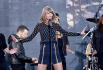Taylor Swift Performs On ABC's 'Good Morning America'