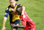 Hayden Morton and Awer Mabil