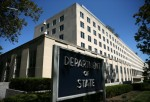Flags Flown At Half Staff At The State Department After