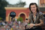Harry Styles of One Direction appears on NBC's Today Show