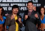 Manny Pacquiao and Chris Algieri