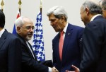 U.S. Secretary of State John Kerry and Iranian Foreign Minister Mohammad Javad Zarif