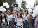 University Students In Mexico City March In Support Of Missing Students