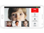 Samsung Galaxy S5 Multi-Party Video Conference