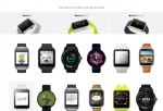 Apple Watch & Android Wear Screenshots