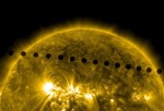 Venus Transit Across The Sun
