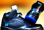 "Neon iCon Air Jordan 5 ""Aquaberry"""