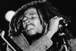 Bob Marley Performs On Stage
