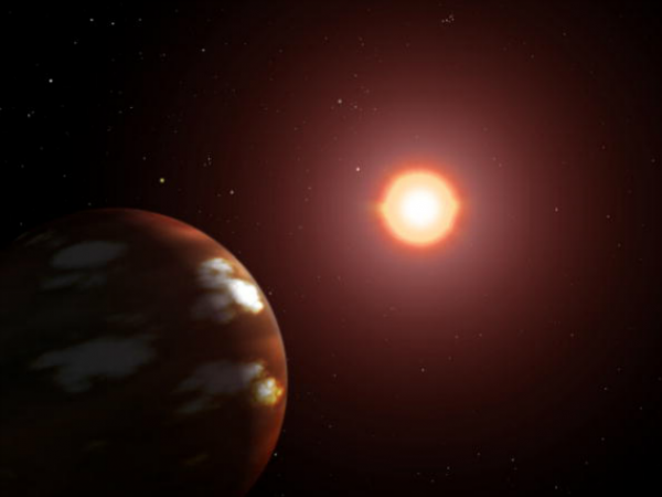 New Planet Discovered Around M Dwarf Star