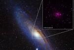 Andromeda black holes