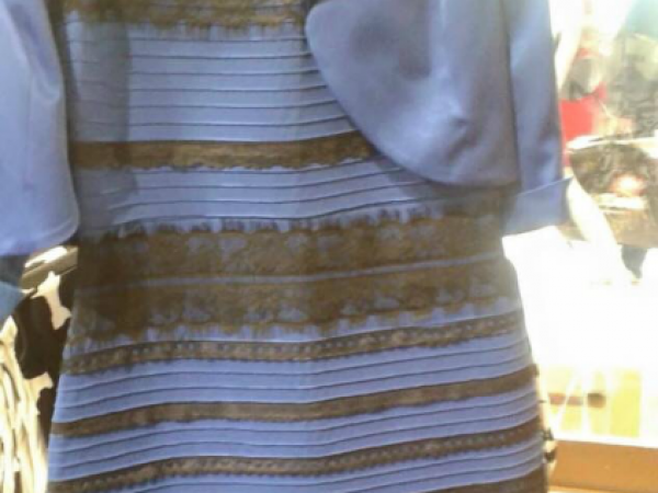 White and Gold / Blue and Black Dress