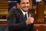 ames Franco visits 'The Tonight Show Starring Jimmy Fallon' at Rockefeller Center on March 14, 2014 in New York City.