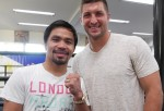 Manny Pacquiao, Tim Tebow