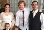 Ed Sheeran crashes wedding