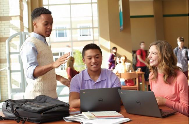 Dell Chromebook 11 classroom