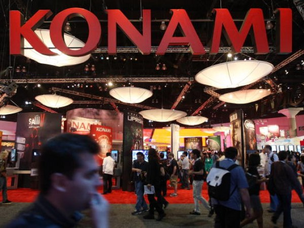 Konami exhibit