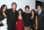 Khloe Kardashian, Bruce Jenner, Kimberly Kardashian, Kris Jenner, Kourtney Kardashian and Robert Kardashian