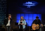 Musicians Charles Kelley, Hillary Scott and Dave Haywood of Lady Antebellum