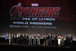 'Avengers: Age Of Ultron' cast and producers