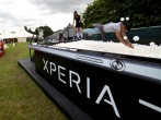 Sony's Xperia Access Stage In The Louder Lounge At The Virgin Media V Festival - Day 1