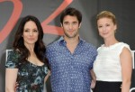 Cast of the TV Series 'Revenge' (L-R) Madeleine Stowe, Joshua Bowman and Emily Vancamp
