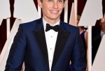 Actor Eddie Redmayne attends the 87th Annual Academy Awards