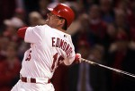 Jim Edmonds #15 of the St. Louis Cardinals