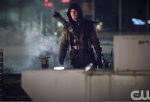 Stephen Amell as Oliver Queen/Arrow on The CW's