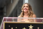 Sofia Vergara Honored On The Hollywood Walk Of Fame
