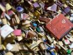 Le Pont Des Arts and The Love Padlocks in Paris