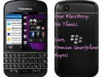 BlackBerry Nope to BB10 Devices