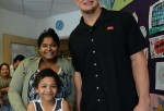 Dunkin Donuts And Rob Gronkowski Celebrate Iced Coffee Day Donation At Boston Children's Hospital