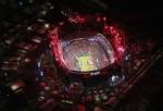 An Aerial View Of Super Bowl XLVIII