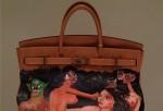 Kim Kardashian's Hermes Birkin handbag