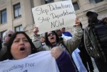 Immigration Activist Demonstrate To End Deportations