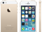 The gold model of the iPhone 5s by Apple Inc.
