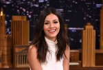 Victoria Justice Visits 'The Tonight Show Starring Jimmy Fallon'